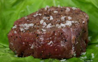 Belting Gallow Cattle Meat @ Little Rowater
