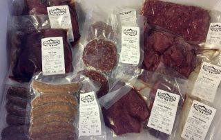 Little Rowater venison meat pack £55
